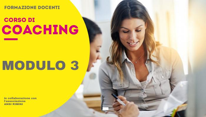 Coaching Docenti – Modulo 3
