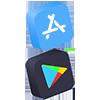 app store e google play